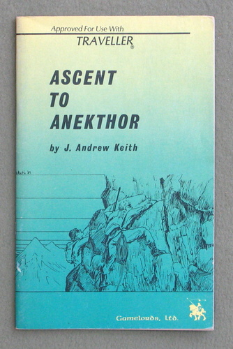 Image for Ascent to Anekthor (Traveller)