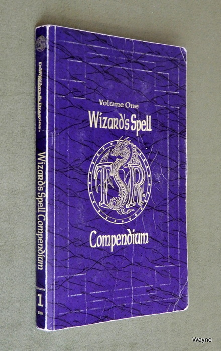 Image for Wizard's Spell Compendium, Vol. 1 (Advanced Dungeons & Dragons) - PLAY COPY