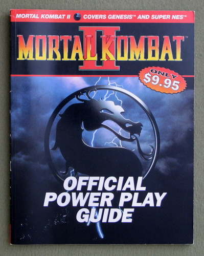 Image for Mortal Kombat II Official Power Play Guide