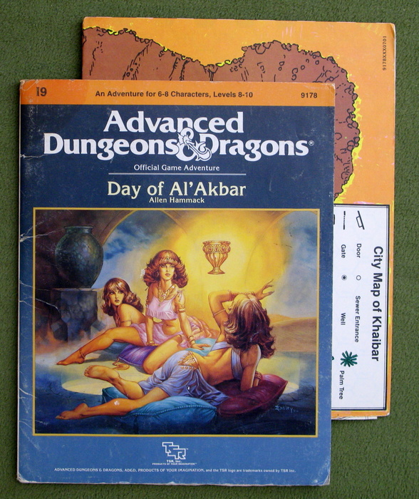 Image for Day of Al'Akbar (Advanced Dungeons and Dragons Module I9) - PLAY COPY