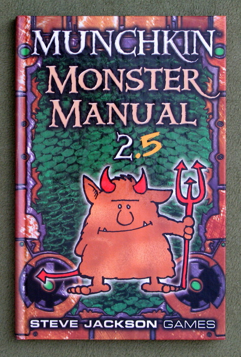 Image for Munchkin Monster Manual 2.5 (D20 System)