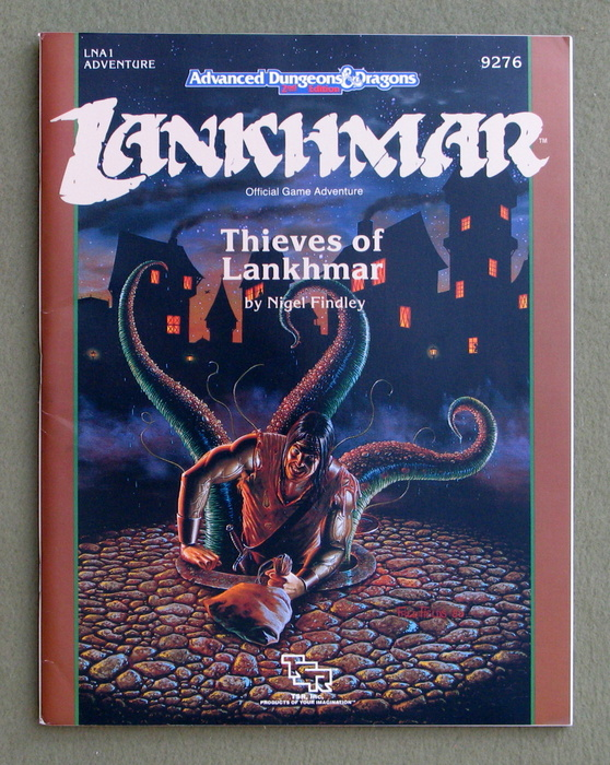 Image for Thieves of Lankhmar (Advanced Dungeons & Dragons Module LNA1)