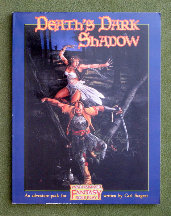 Image for Death's Dark Shadow (Warhammer Fantasy Role-Play)