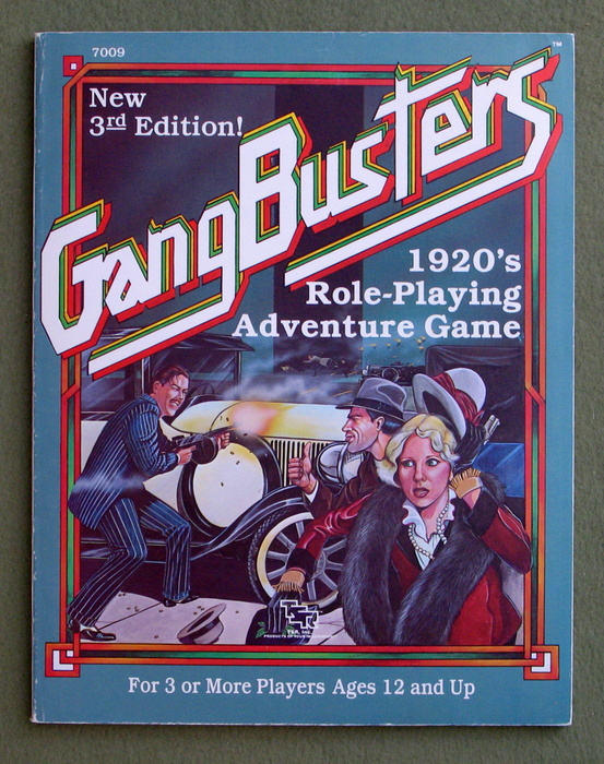Image for Gangbusters 1920's Role-Playing Adventure Game (3rd Edition)