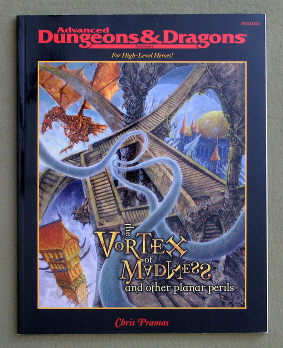 Image for Vortex of Madness & Other Planar Perils (Advanced Dungeons & Dragons Accessory)