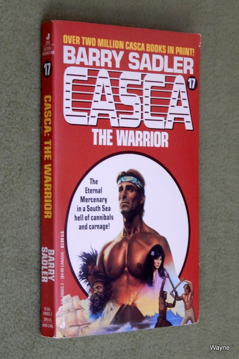 Image for Casca The Warrior (Casca No. 17)