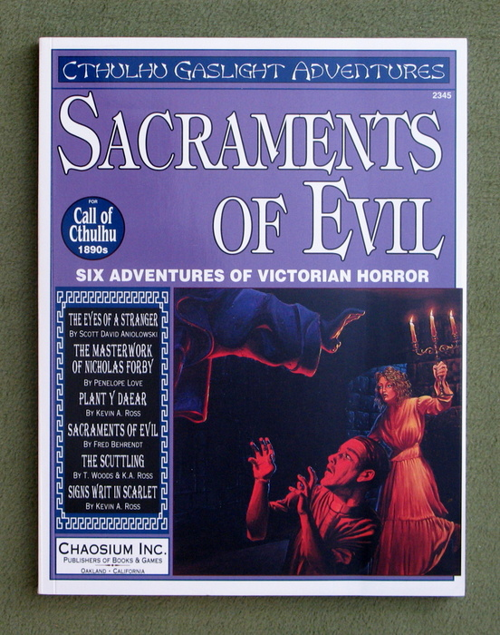 Image for Sacraments of Evil (Call of Cthulhu)
