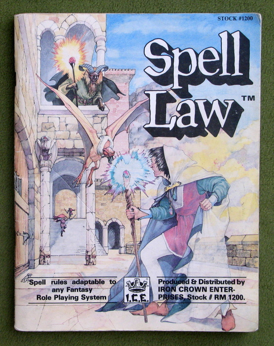 Image for Spell Law (Rolemaster) - PLAY COPY