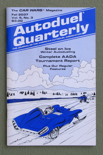 Image for Autoduel Quarterly: Vol. 5, No. 3 (Car Wars)