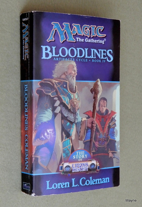 Image for Bloodlines (Magic: The Gathering: Artifacts Cycle, Bk. IV) - READING COPY