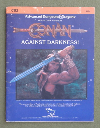 Image for Conan: Against Darkness (AD&D CB2) - WORN