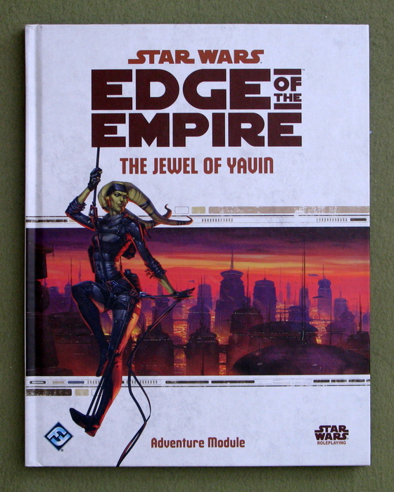 Image for Star Wars Edge of the Empire: The Jewel of Yavin (Star Wars Role Playing Game)