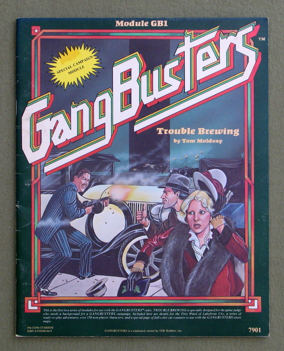 Image for Trouble Brewing (GangBusters Module GB1)