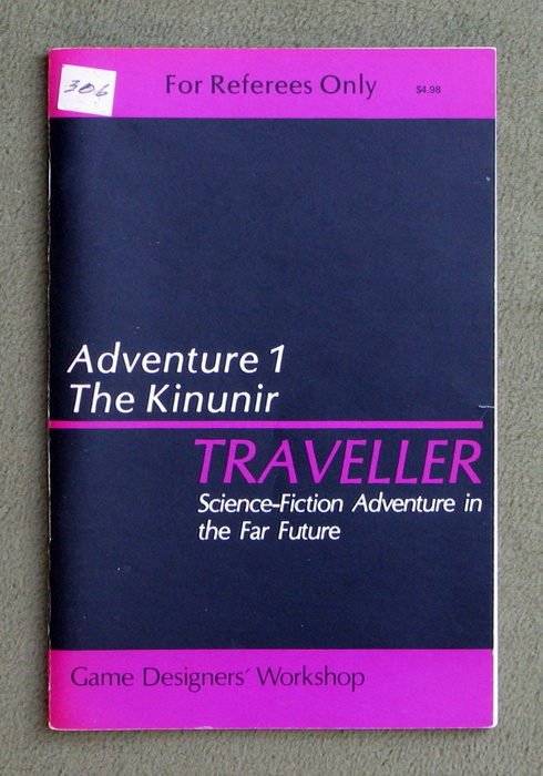 Image for Traveller Adventure 1: Kinunir - 1ST PRINT