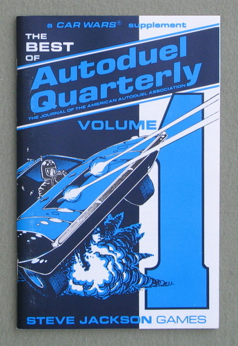 Image for Best of Autoduel Quarterly, Volume 1 (Car Wars)