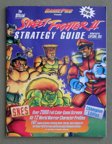 Image for The Official Street Fighter Two Strategy Guide - NO POSTER