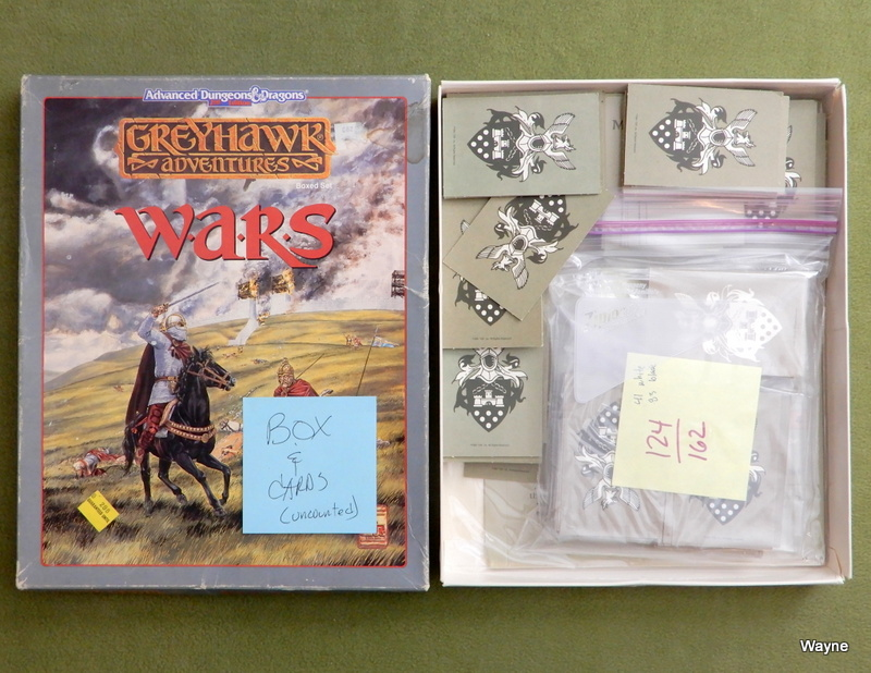 Image for Greyhawk Wars (AD&D) - PARTS - CARDS