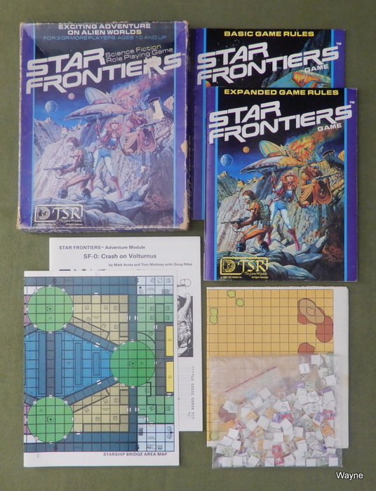 Image for Star Frontiers RPG - PLAY SET