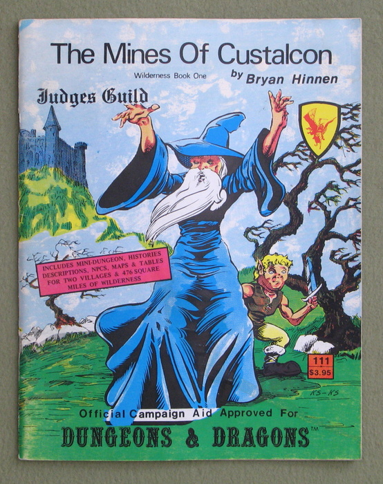 Image for The Mines of Custalcon: Wilderness Book One (Dungeons & Dragons)
