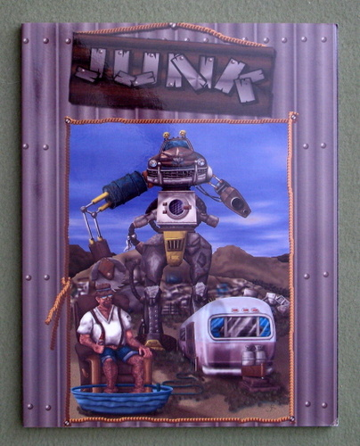 Image for Junk (A Game of Mechanized Combat in a Not So Intelligent Future)