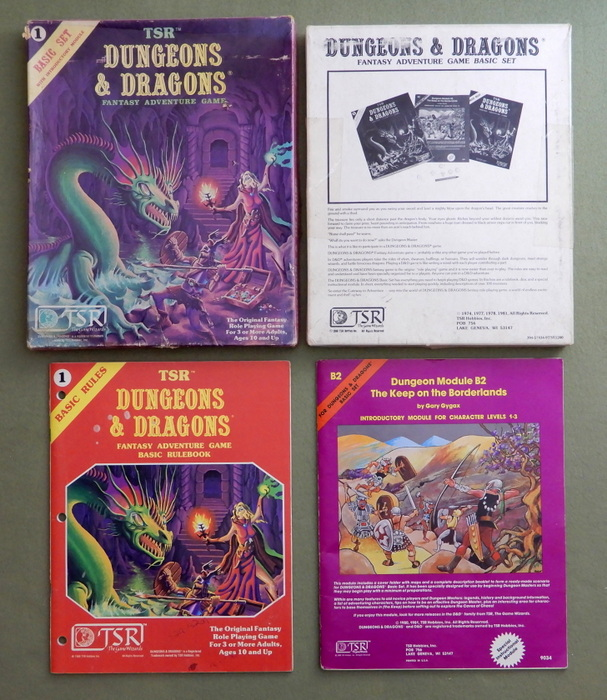 Image for Dungeons & Dragons Basic Set - PLAY SET