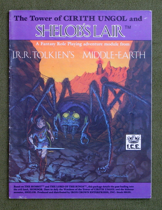 Image for Tower of Cirith Ungol and Shelobs Lair (Middle Earth Role Playing/MERP)