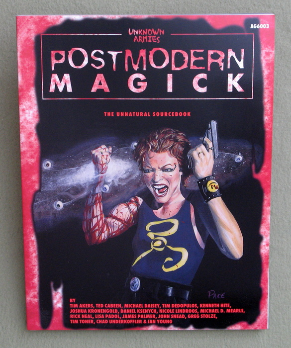 Image for Postmodern Magick: The Unnatural Sourcebook (Unknown Armies)