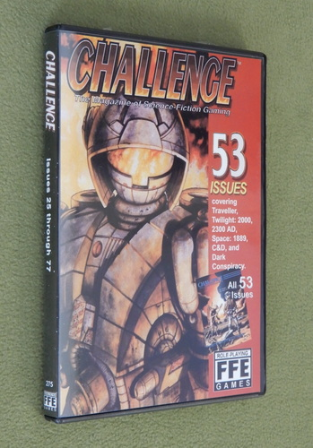 Image for Challenge Magazine: All 53 issues on CD-ROM