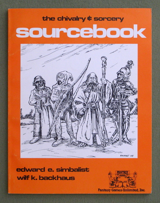 Image for Chivalry & Sorcery Sourcebook
