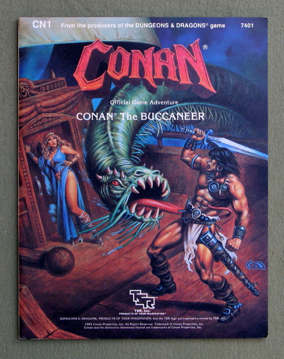 Image for Conan the Buccaneer (Conan Game Adventure CN1)