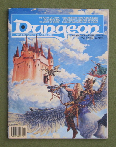 Image for Dungeon Magazine, Issue 9