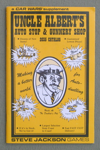 Image for Uncle Albert's Auto Stop & Gunnery Shop: 2035 Catalog (Car Wars)