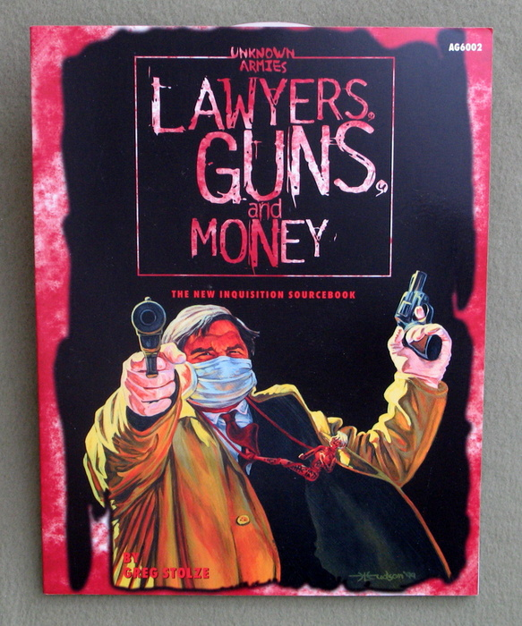 Image for Lawyers, Guns, and Money: The New Inquisition Sourcebook (Unknown Armies)