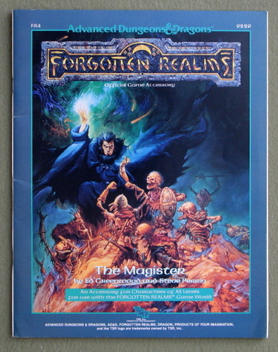 Image for The Magister (Advanced Dungeons & Dragons: Forgotten Realms Module FR4)