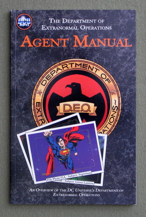 Image for Agent Manual: An Overview of the DC Universe's Department of Extranormal Operations (DCU RPG)