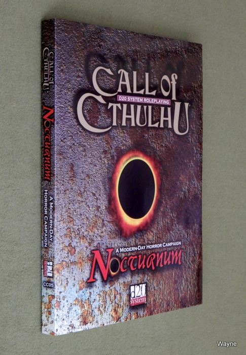 Image for Nocturnum: A Modern-Day Horror Campaign (Call of Cthulhu D20)