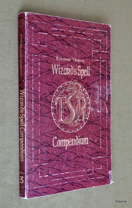 Image for Wizard's Spell Compendium, Vol. 3 (Advanced Dungeons & Dragons) - PLAY COPY