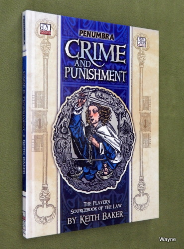 Image for Crime and Punishment (Penumbra: Dungeons & Dragons D20 system)