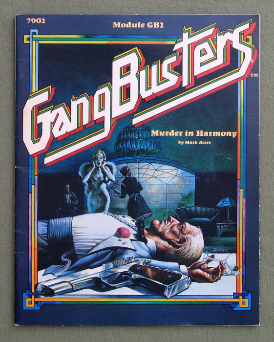 Image for Murder in Harmony (Gangbusters module GB2) - PLAY COPY