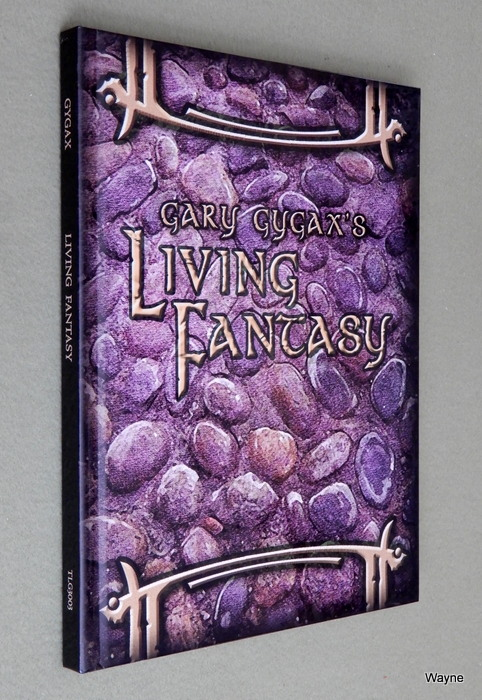 Image for Gary Gygax's Living Fantasy: Gygaxian Fantasy Worlds, Vol. 3