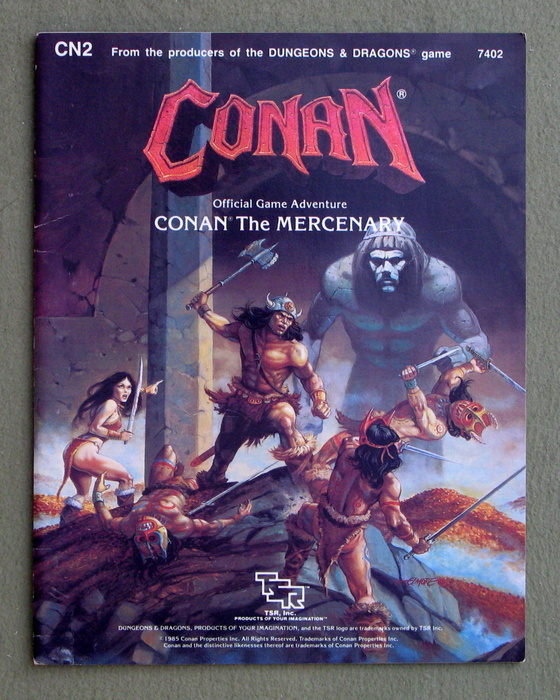 Image for Conan the Mercenary (Conan Game Module CN2)