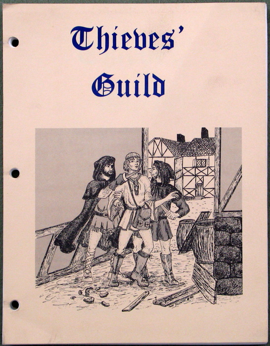 Image for Thieves' Guild: 1st edition rules
