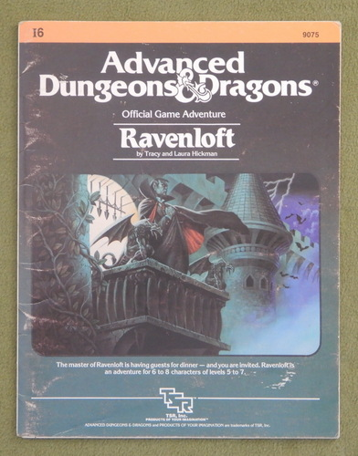Image for Ravenloft (AD&D Module I6) - PLAY COPY