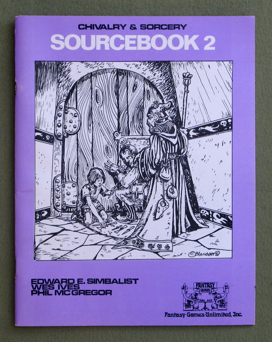 Image for Chivalry & Sorcery Sourcebook 2