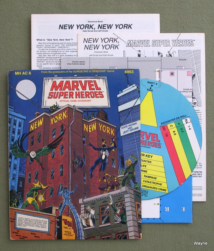 Image for New York, New York (Marvel Super Heroes Module MHAC6)