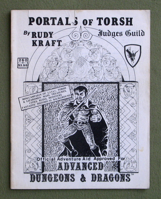 Image for Portals of Torsh (Advanced Dungeons & Dragons) - PLAY COPY
