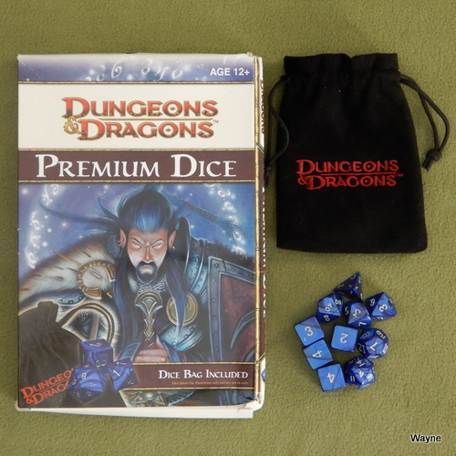 Image for Dungeons & Dragons Premium Dice (D&D Accessory)