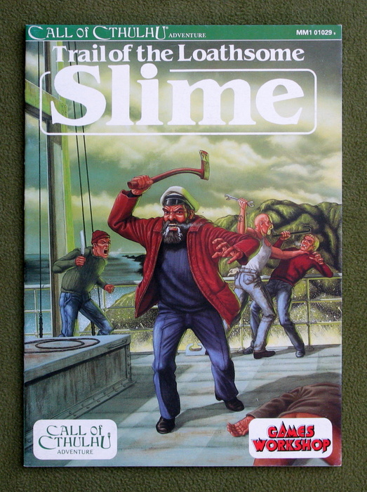 Image for Trail of the Loathsome Slime (Call of Cthulhu)