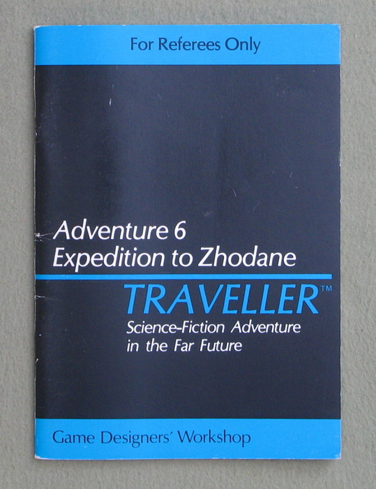 Image for Traveller Adventure 6: Expedition to Zhodane - GAMES WORKSHOP (UK) EDITION