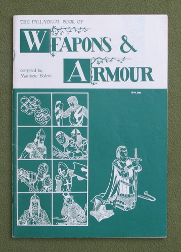 Image for The Palladium Book of Weapons & Armour (1st edition)